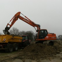 Lohnbetrieb Alfred Arends Ostfriesland - Baggerarbeiten